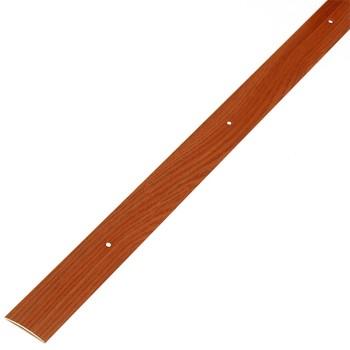 Порожек стыкоперекрывающий (37х3,5) (ПС03, 900.092, вишня)