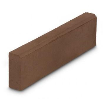Бордюр тротуарный, 500х210х40мм коричневый