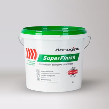 Шпаклевка универсальная Danogips SuperFinish 3 л/5 кг