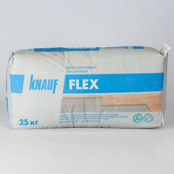 Клей для плитки Кнауф Флекс эластичный цемент, 25 кг