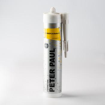Герметик силиконовый Peter Paul универсальный (белый), 300 мл