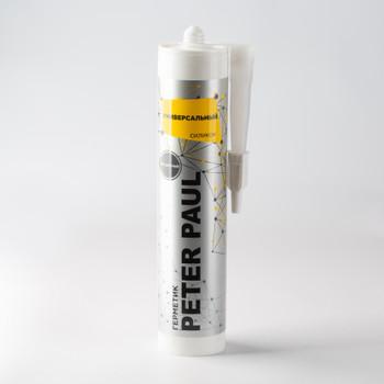 Герметик силиконовый Peter Paul универсальный (бесцветный), 300 мл
