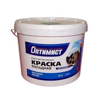 Краска Оптимист фасадная 15 кг