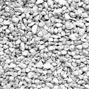 Щебень белый, фракция 5-20 мм., 20 кг
