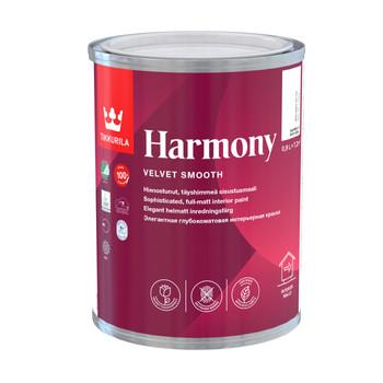 Краска Тиккурила Гармония латексная моющаяся мат./база С/, 0,9 л
