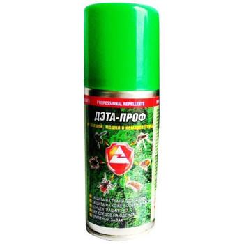 Аэрозоль для защиты от комаров Дэта-Проф 3 в 1, 140мл