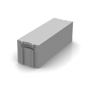 Блок газобетонный Твинблок D400 625х250х200 мм