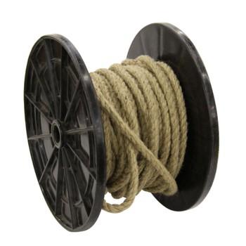 Веревка джутовая 10 мм (бухта 380 метров)