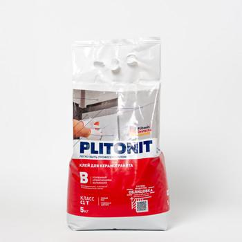 Клей для плитки Плитонит В, 5кг