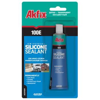 Герметик силиконовый Akfix 100E (50 мл)