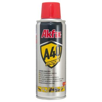 Спрей-смазка универсальная Akfix A40 MAGIC (200 мл)