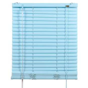 Жалюзи ПВХ 110х160см, голубой