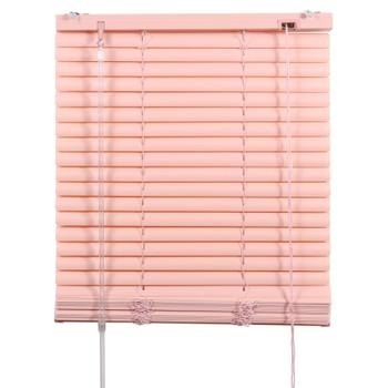 Жалюзи ПВХ 150х160см, розовый