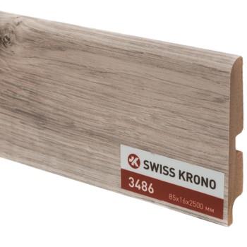 Плинтус Kronopol P85 3486 Latino Oak 2500х85х16мм