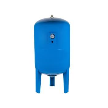 Гидроаккумулятор Unipump 200 л с манометром вертикальный