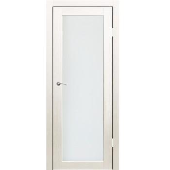 Полотно дверное остекленное Легро СИНЕРЖИ дуб молочный ПВХ, ПДО 700х2000мм