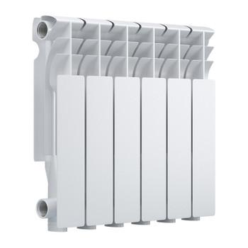 Радиатор алюминиевый EVOLUTION EvA350 6 секций