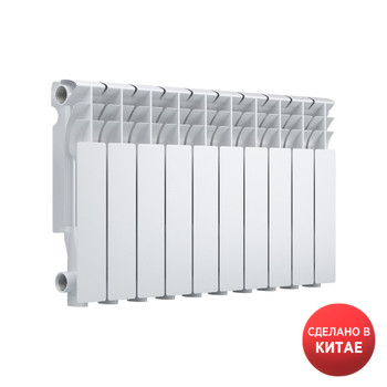 Радиатор алюминиевый EVOLUTION EvA350 10 секций