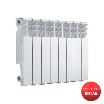 Радиатор биметаллический EVOLUTION EvВ350 8 секций
