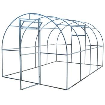 Теплица без поликарбоната 4х3х2,1 (каркас 20х20)