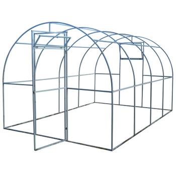Теплица без поликарбоната 6х3х2,1 (каркас 20х20)