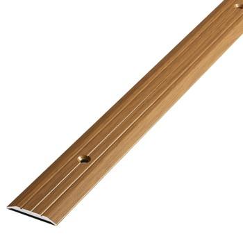 Порожек стыкоперекрывающий (25х3) (ПС01, 1800.088, орех)