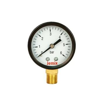 """Манометр радиальный 6 бар, d=50мм, G1/4""""Jemix"""