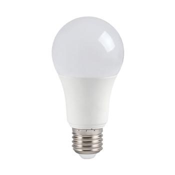 Лампа светодиодная ECO A60 стандарт 9Вт, теплый свет, E27 IEK
