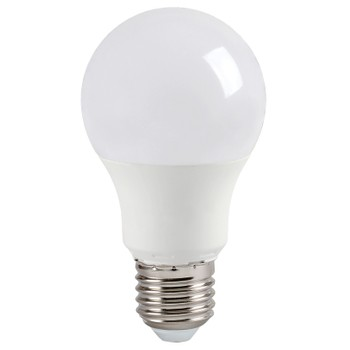 Лампа светодиодная ECO A60 стандарт 9Вт, холодный свет, E27 IEK