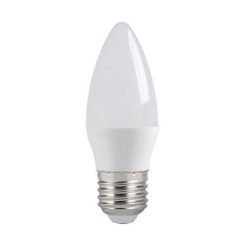 Лампа светодиодная ECO C35 свеча 7Вт, теплый свет, E27 IEK
