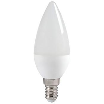 Лампа светодиодная ECO C35 свеча 7Вт, холодный свет, E14 IEK
