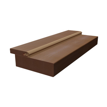 Дверная коробка Синержи, Ноче кремоне, прямая, 2070*70*28мм