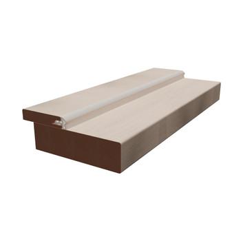 Дверная коробка Синержи, Ясень белый, прямая, 2070*70*28мм
