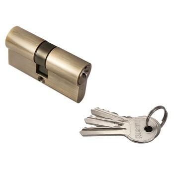 Цилиндровый механизм RUCETTI R60C AB ключ/ключ бронза. Матрица.