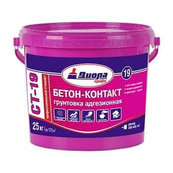 Грунт Диола ПРОФ СТ-19 Бетон Контакт, 25 кг