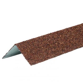 Угол металлический внешний ТехноНИКОЛЬ Hauberk Терракотовый кирпич, 50х50х1250мм