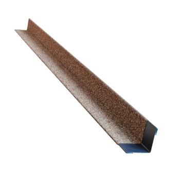 Угол металлический внутренний HAUBERK (античный кирпич) 50х50х1250мм, ТЕХНОНИКОЛЬ