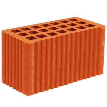Кирпич строительный пустотелый двойной (2,1НФ) М-150, MSTERA
