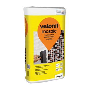 Клей для плитки (С1 Т) weber.vetonit mosaiс для мозаики и камня, 25кг