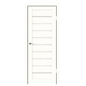 Дверное полотно Синержи Дольче, Белый ясень, ПДО 700Х2000ММ