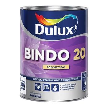 Краска Bindo-20 латексная п/матовая, 1 л