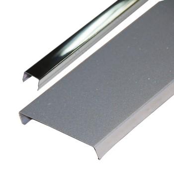 Комплект потолочный 1,7х1,7м эк AN85A металлик RUS с раскладкой супер-хром люкс