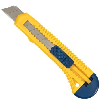 Нож с механическим фиксатором Yoko, 18 мм