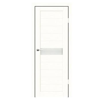Дверное полотно Синержи Примо, Белый ясень, ПДО 800Х2000ММ