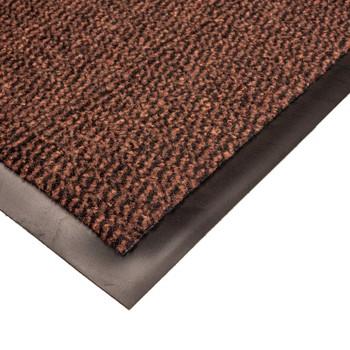 Коврик грязезащитный Faro 12, коричневый, 90х150 см