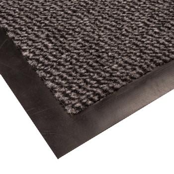 Коврик грязезащитный Faro 04, серый, 90х150 см