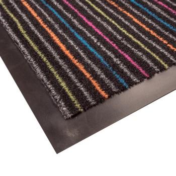 Коврик грязезащитный Linie 99, цветной, 60х90 см