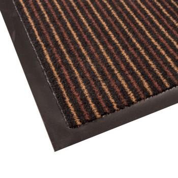 Коврик грязезащитный Tango 60, коричневый, 90х150 см