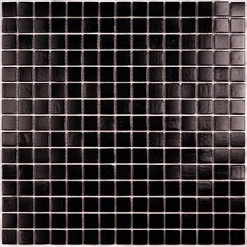 Мозайка стеклянная Simple Black, 327х327мм