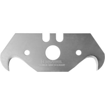 """Лезвия KRAFTOOL """"PRO"""" SOLINGEN сменные крюковид,для универ ножей,легир сталь,многоур закалка,Тип S23, 18,7x50x0,5мм,5шт"""